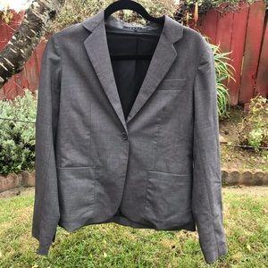 THEORY professional blazer Sz small gray